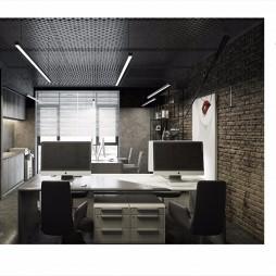 工业风小型办公空间_3700521