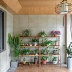 250平中式现代—阳台图片