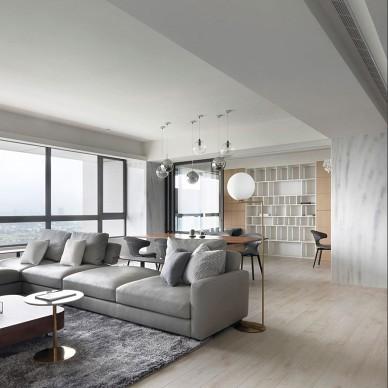 300平现代简约—客厅图片