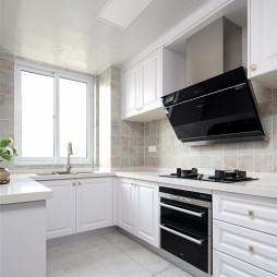 浅色系美式婚房—厨房图片