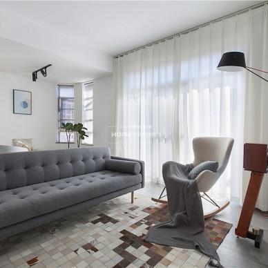 极简主义男士公寓,向往的生活无需过多装饰_3703171