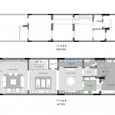 气质灰+蓝 融合美式与现代的优雅轻奢美宅_3704864