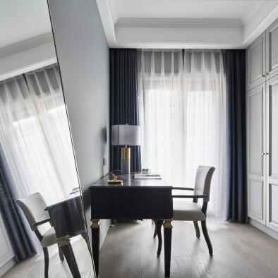 气质灰+蓝 融合美式与现代的优雅轻奢美宅