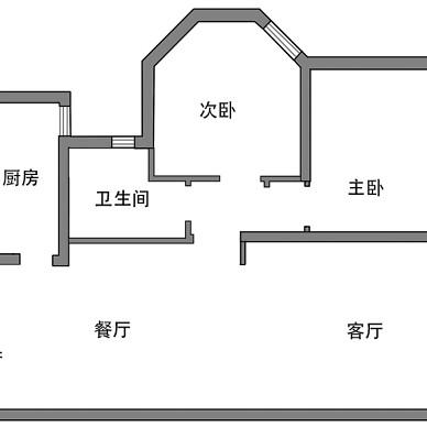 """""""凹""""型墙,设计师户型改造的破局绝招_3705260"""