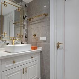 140平米美式经典:卫生间图片