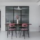 130平米現代簡約:餐廳圖片