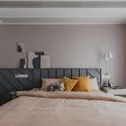 130平米現代簡約:臥室圖片