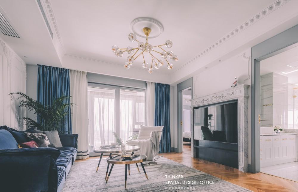 首发|德彪西的派对序曲客厅欧式豪华客厅设计图片赏析