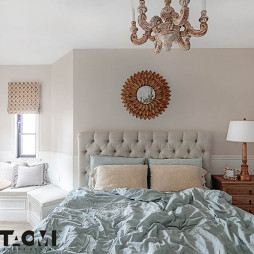 【桃弥设计】——【橡树湾C1】—卧室图片