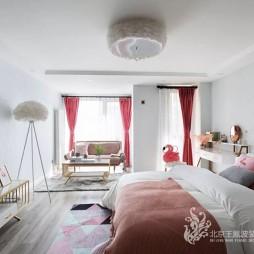 樣板間設計《甜美夏日》—臥室圖片