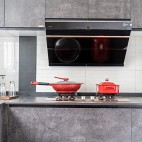 126平米现代简约—厨房设计图