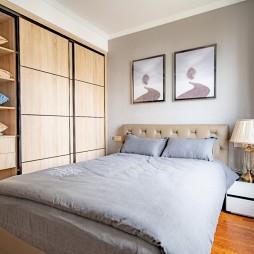 126平米現代簡約—臥室設計圖