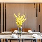 126平米现代简约—餐厅设计图