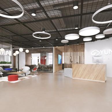 科技公司----LOFT办公空间设计_3714823
