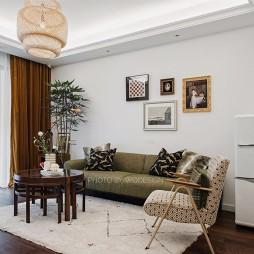 89平米美式经典—客厅图片