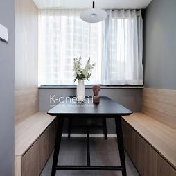 90平米现代简约—餐厅亚博娱乐平台下载 8图