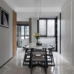 133平米現代簡約—餐廳圖片