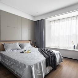133平米現代簡約—臥室圖片
