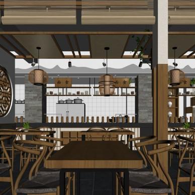 陕西老碗餐厅设计_3717942