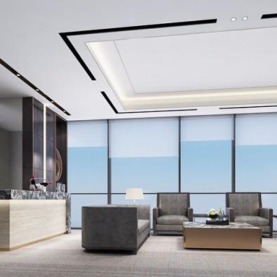 广州金融城绿地中心金融投资公司办公室装修