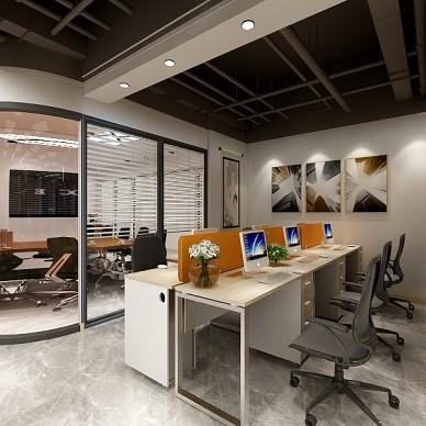 万达建筑公司办公室设计_3719853