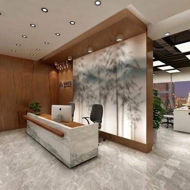 万达建筑公司办公室设计_3719854