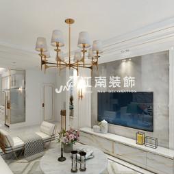 哈尔滨江南装饰公司文昌公馆欧式风格装修_3721240