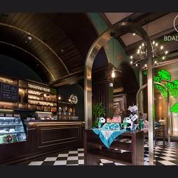 青啤  麦香咖啡馆(实景)——前台图片