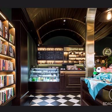 青啤  麦香咖啡馆(实景)——室内环境图片
