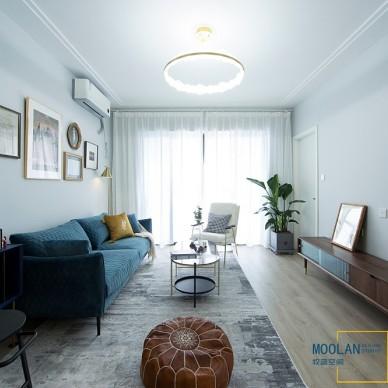 〔设计实景〕生活需要一点改变——客厅图片