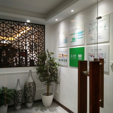 办公空间设计⎮蒂柏尼装饰设计室内实景_3727208