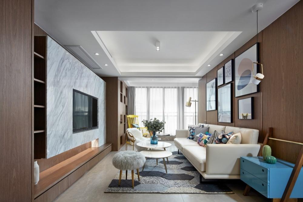 方界作品阁楼里的大城小爱客厅现代简约客厅设计图片赏析