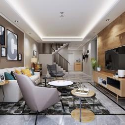 增源航都綠洲180平米復式新房簡約風格_3728655