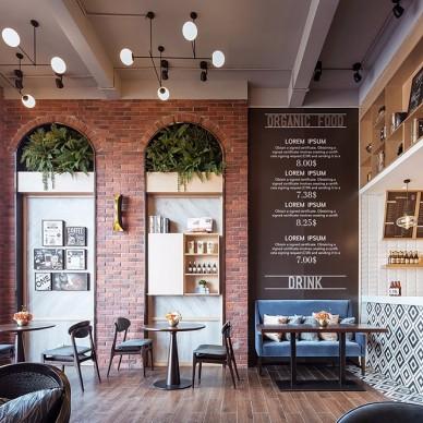 廣西賀州鐘山彰泰城咖啡廳——店內環境圖片