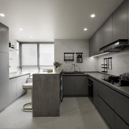 研山兮遇丨灵动的现代禅意空间——厨房图片