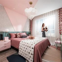 95平米现代简约——卧室图片