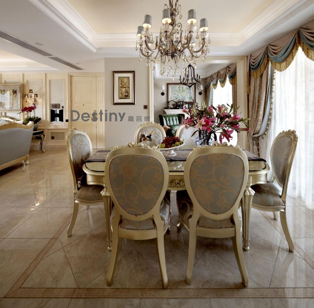 混搭欧式下的低调奢华诠释厨房2图欧式豪华餐厅设计图片赏析