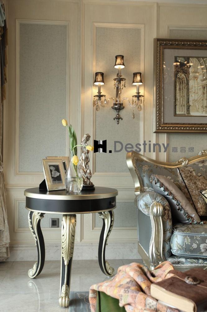 混搭欧式下的低调奢华诠释客厅1图欧式豪华客厅设计图片赏析