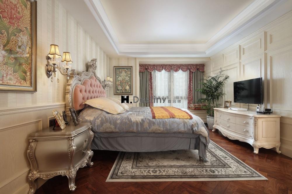 混搭欧式下的低调奢华诠释卧室4图欧式豪华卧室设计图片赏析