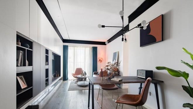 告别小清新 本屋主很酷 就要非黑即白的家