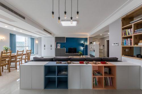 宜家IKEA功能区窗帘201-500m²北欧极简家装装修案例效果图
