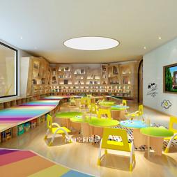 教育空间设计——图书室图片