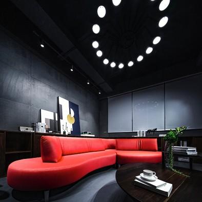 洒进尘世的曙光   明道照明办公空间设计