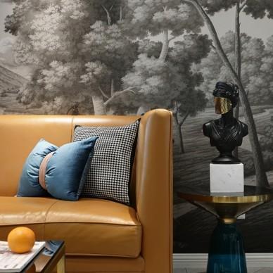 她家的背景墙,并颜值与实用于一身!_3742213