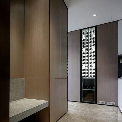 不落俗套的單身公寓設計——玄關圖片