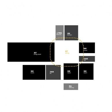 弧线与直线的交织 - 俏皮艺术公寓_3743324
