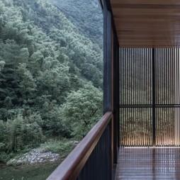 重见山水—临安鱼乐山房民宿改造设计——阳台图片