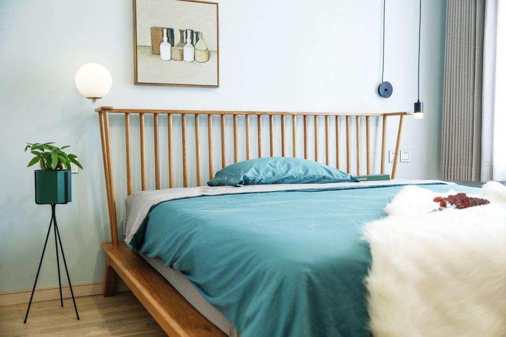 65岁老太的前卫海景房卧室1图现代简约卧室设计图片赏析