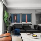 复式小楼,半色空间,现代简约百看不腻——客厅图片