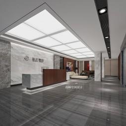 办公室设计——新中式风格_3749734